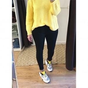 Jeans lazo strass